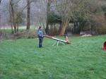 Educateur Canin entre Rouen et Neufchâtel-en-Bray - Haylee sur la balançoire